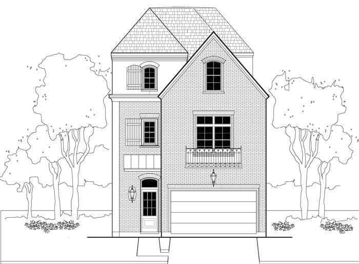 Townhouse Plan E1155 A3.3