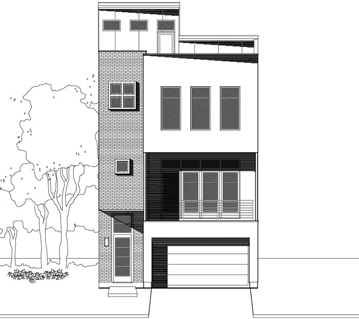 Townhouse Plan E3214 A1.2