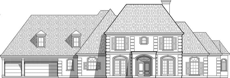 Two Story House Plan C6229