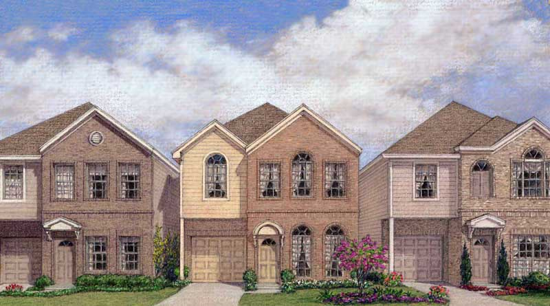 Urban Home Plan D1115-A