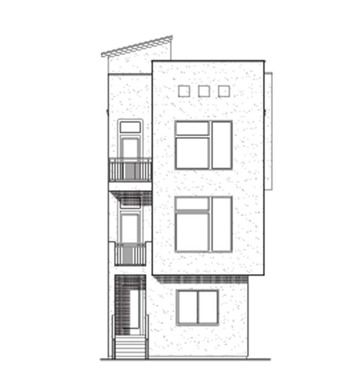 Townhouse Plan D7009-1