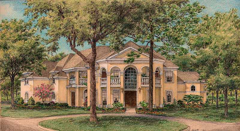 Classical Home Plan D0265