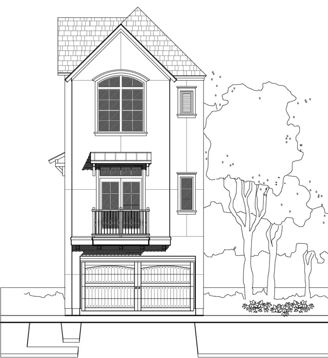 Townhouse Plan E1155 C1.1