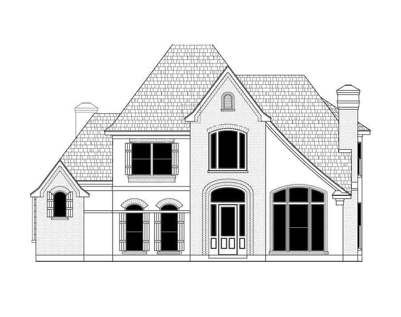 Two Story Home Plan D9174