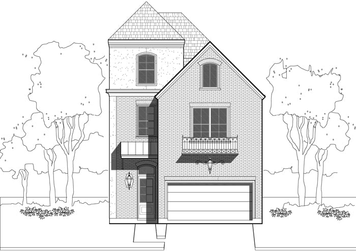 Townhouse Plan E0108 A2.2