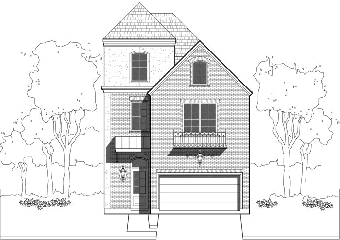 Townhouse Plan E0108 A2.3