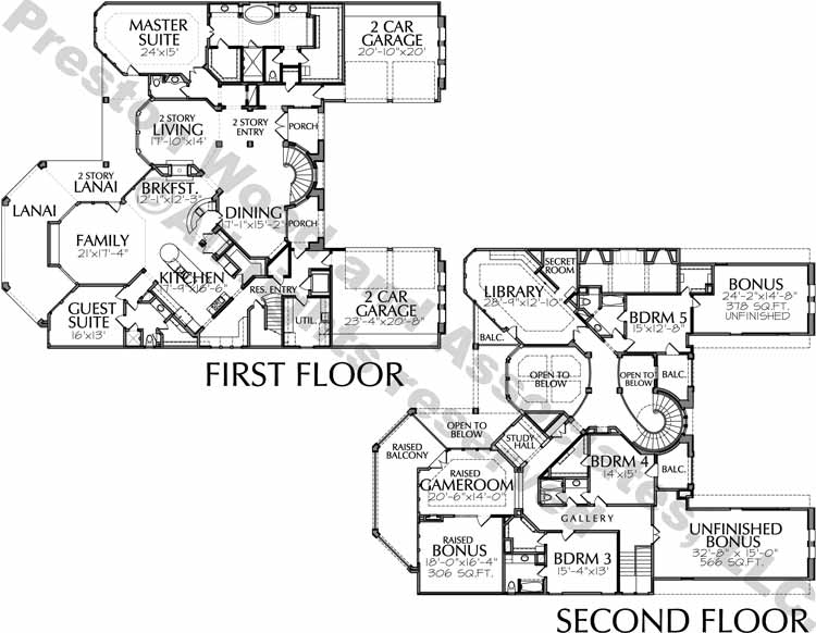 Two Story House Plan D4117