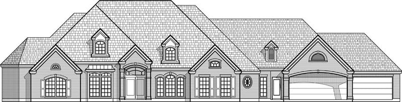 Two Story House Plan C5064