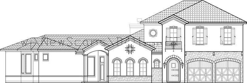 Two Story House Plan D4111