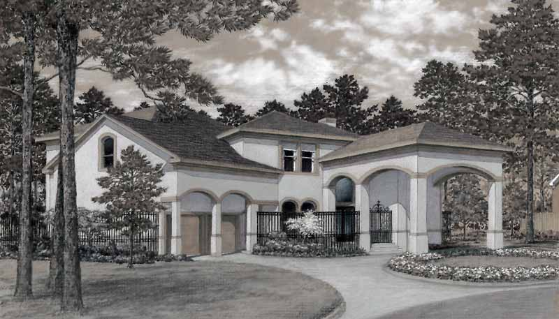 Two Story Home Plan D0051