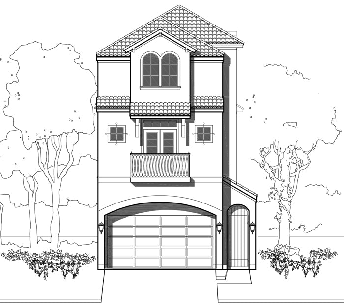 Townhouse Plan E2294 B1.1R