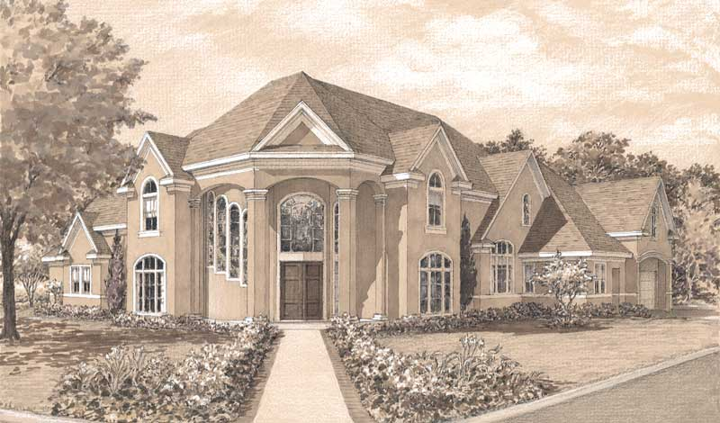 Two Story Home Plan D2023