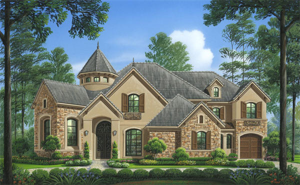 Two Story House Plan D6259