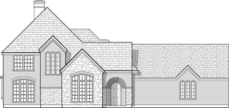 Two Story House Plan C6206