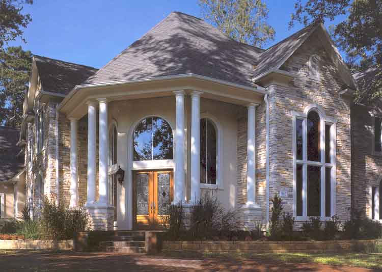 Traditional Style Home Plan aD1075