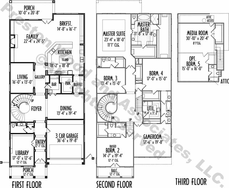 Urban House Plan D3055