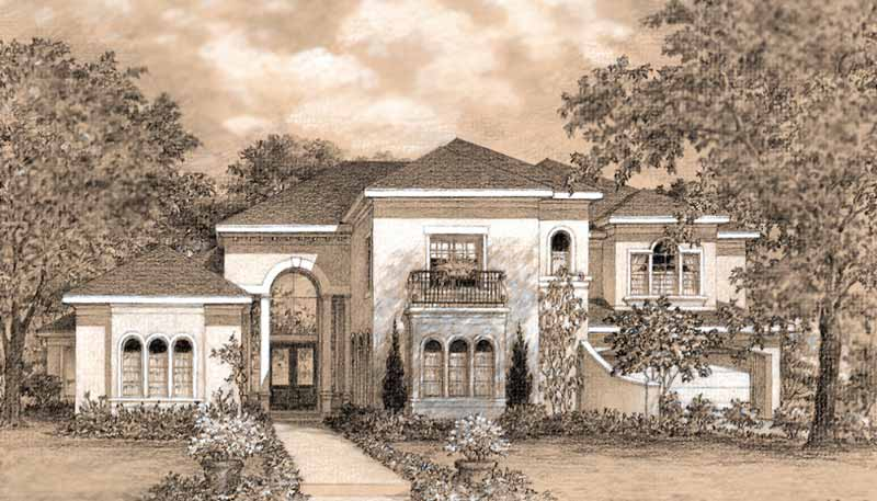 Two Story Home Plan D2008
