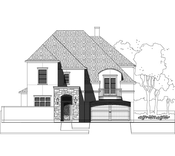 Two Story House Plan E2184