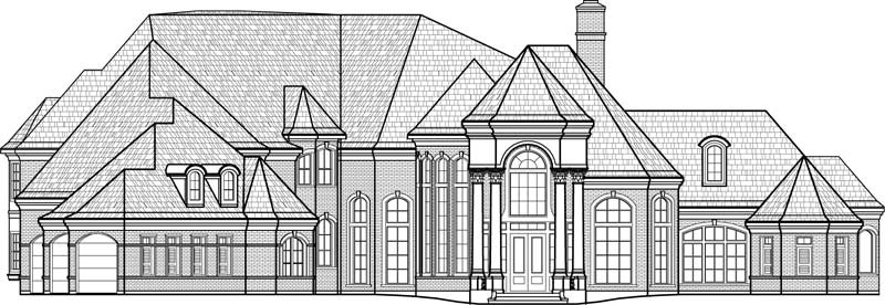 Two Story House Plan C8015