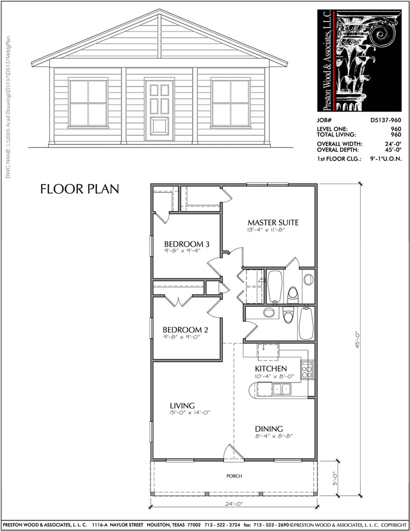 Small House Plan D5137