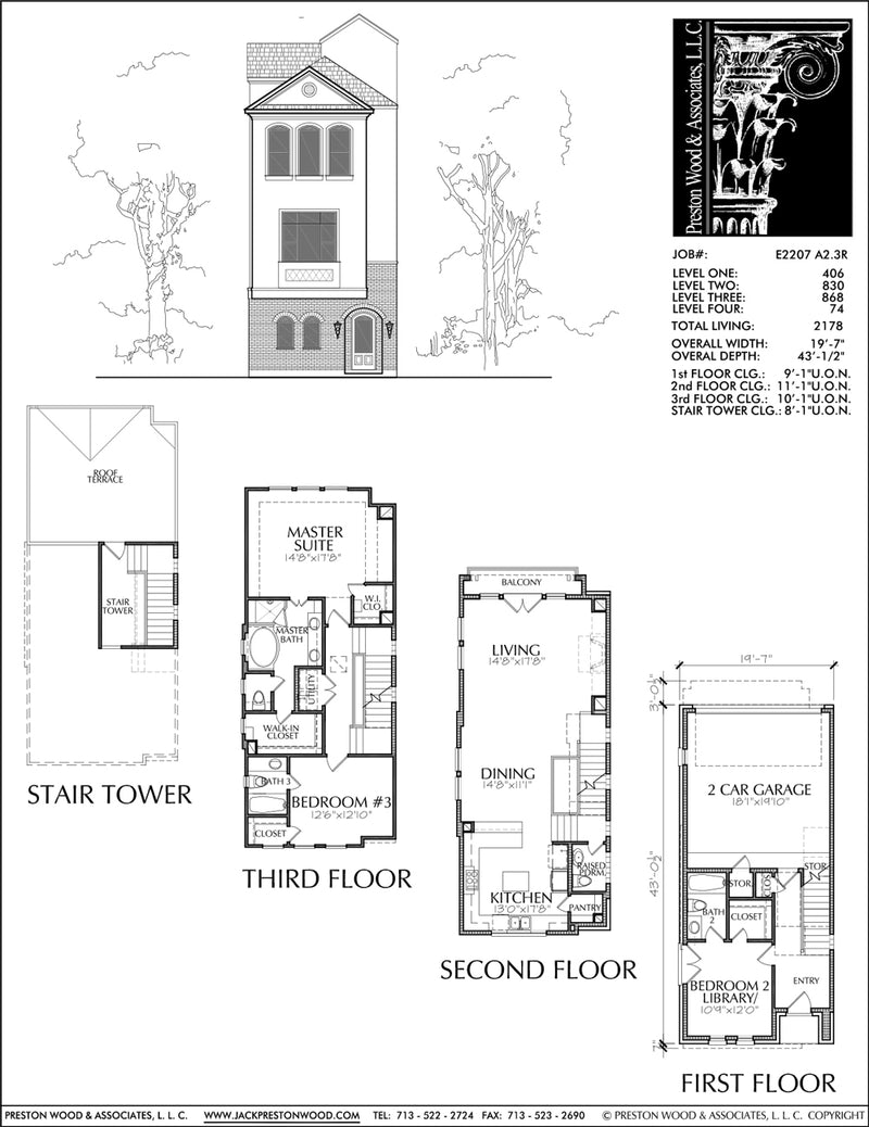 Townhouse Plan E2207 A2.3