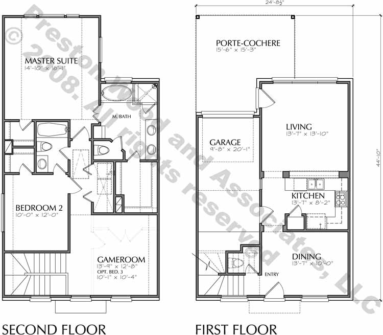 Small House Plan D3163A-1523