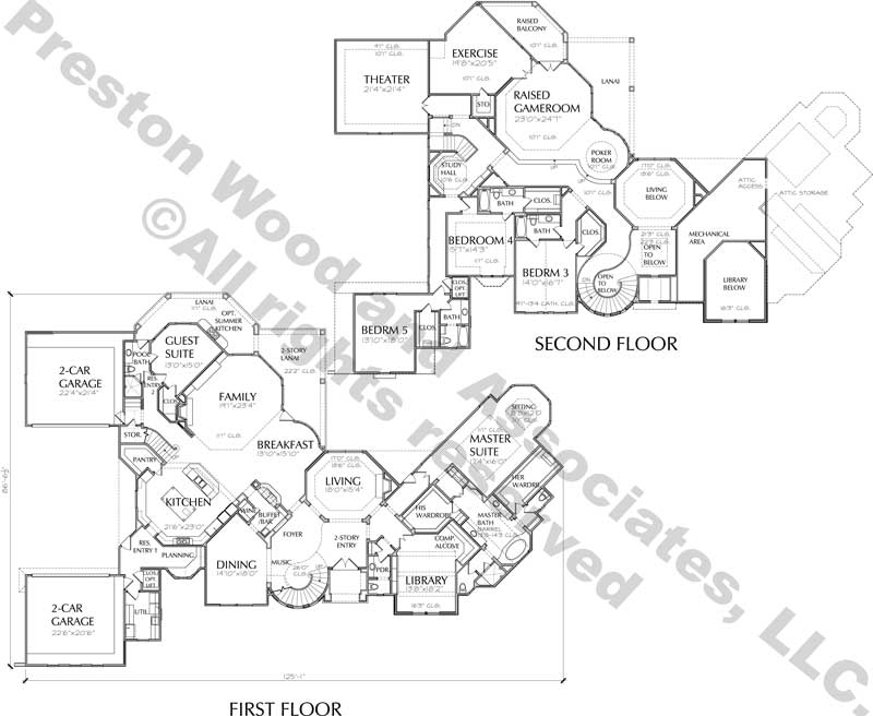 Electrical Plan For Two Storey House