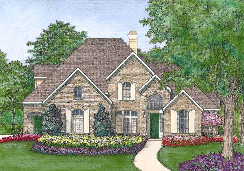 Traditional Style Home Plan D0189