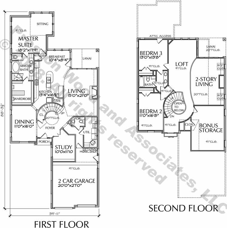 Patio Home Plan aD6163 Jf