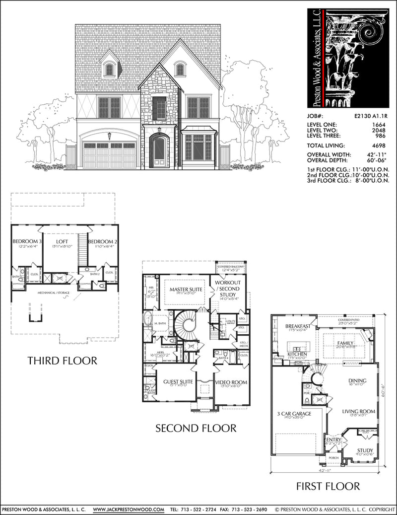 Urban House Plan E2130