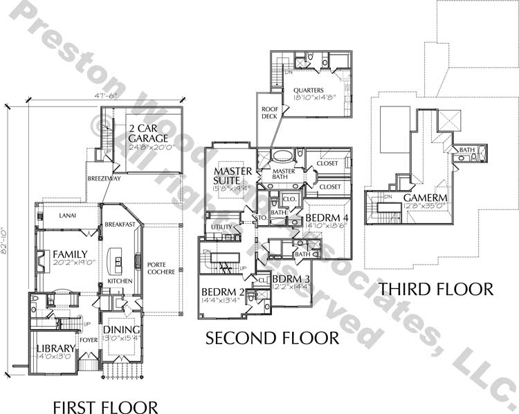 Two Story Home Plan D5199