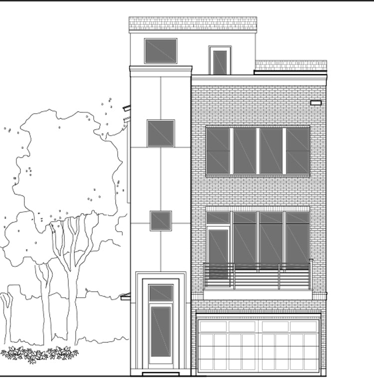 Townhouse Plan E2226 A1.1