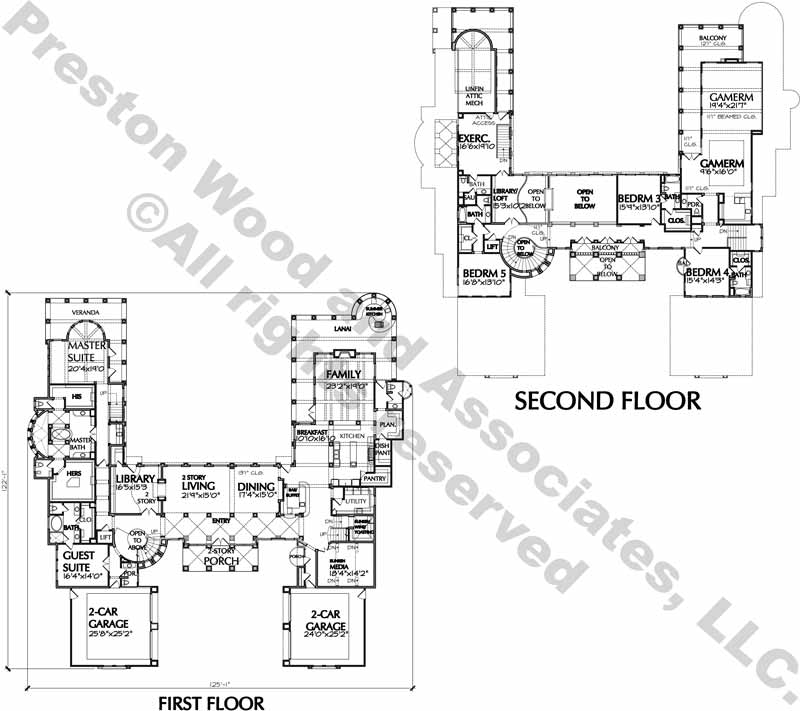 Two Story House Plan D7080