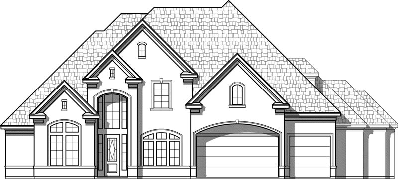 Two Story House Plan D2242