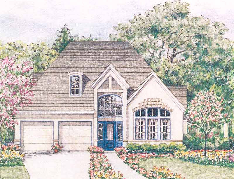 Country Style Home Plan C5356 A