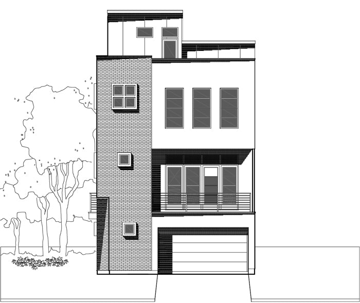 Townhouse Plan E3214 A2.1