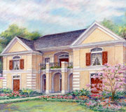 Classical Home Plan C4169