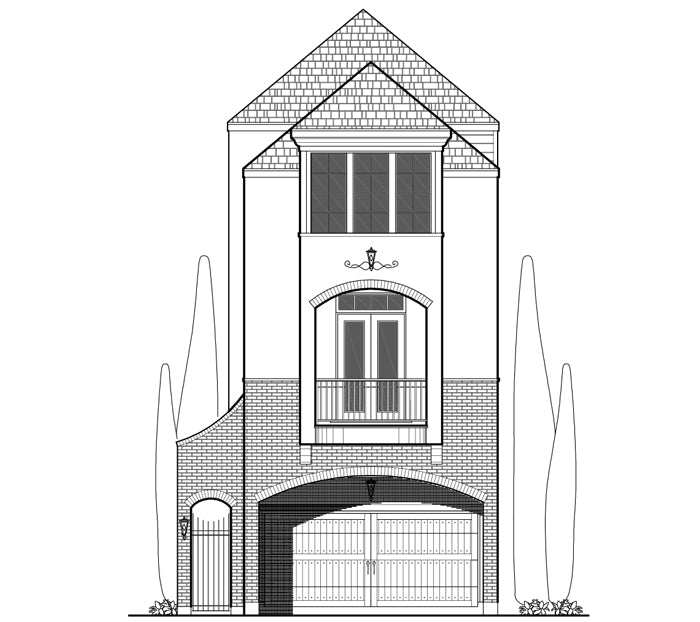 Townhouse Plan E2315 A1.2