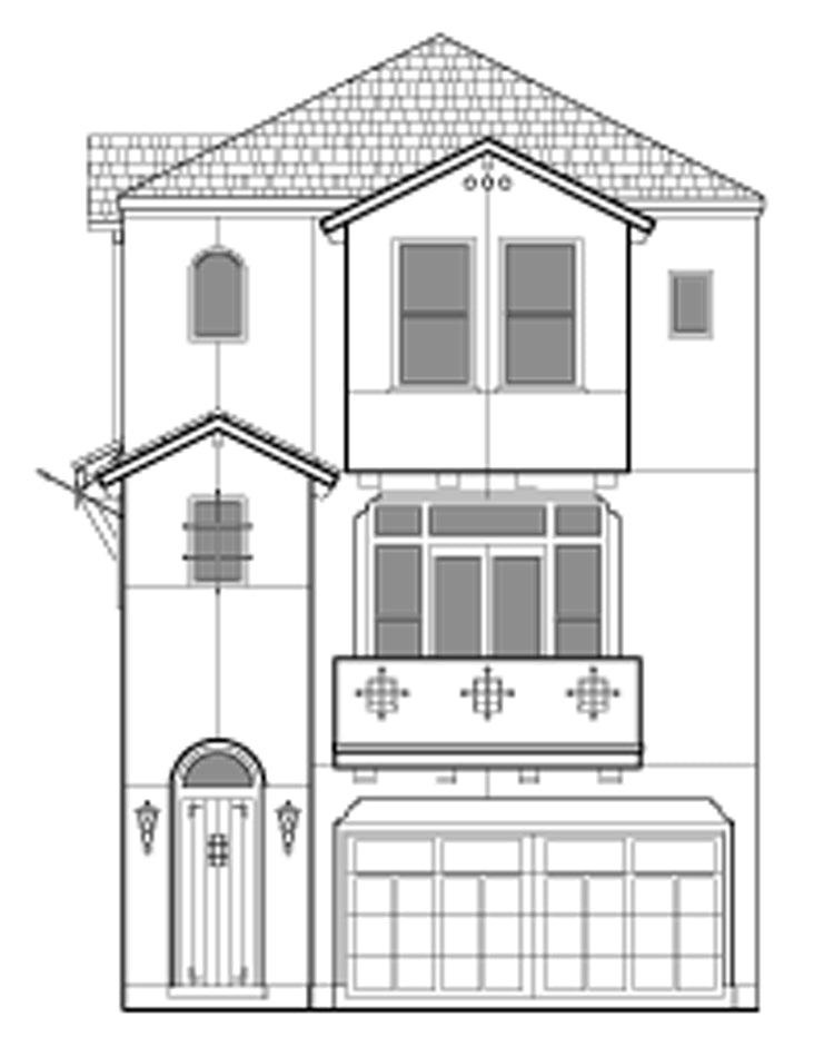 Townhouse Plan E2200 B1.1