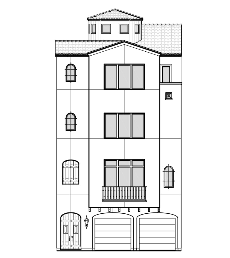 Townhouse Plan E2221
