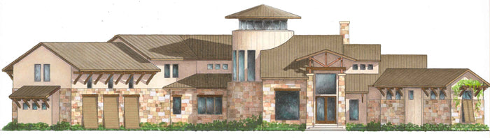 Two Story House Plan D7089