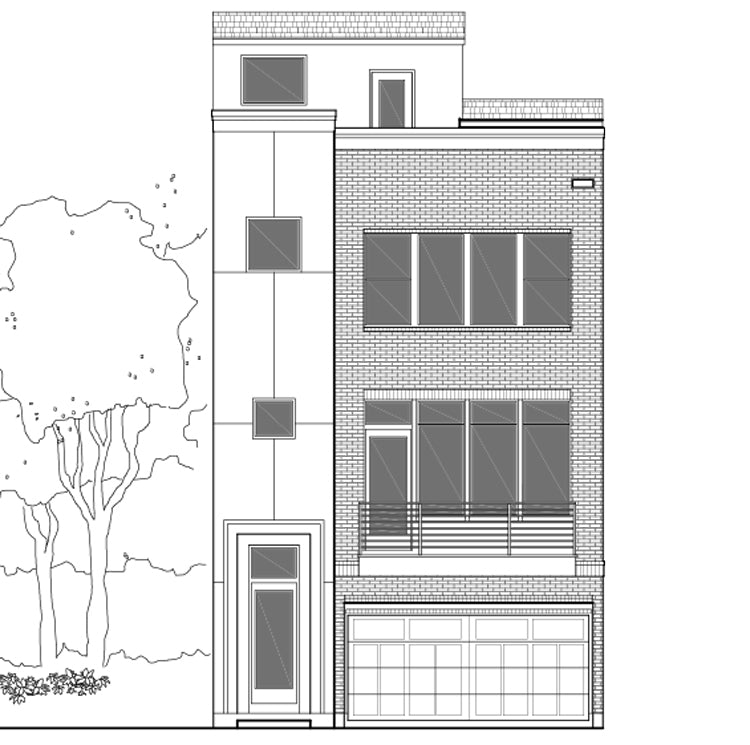 Townhouse Plan E2226 A1.3