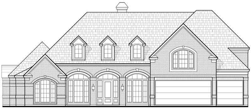 Two Story House Plan D0082