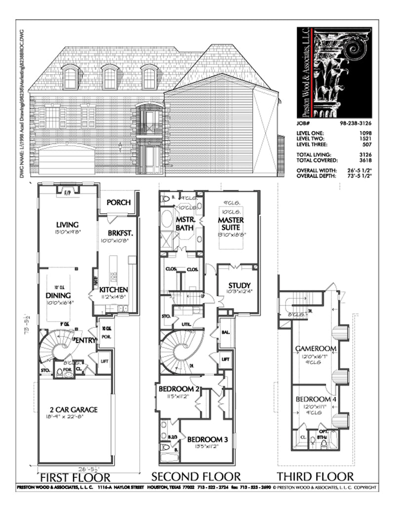Urban House Plan C8238