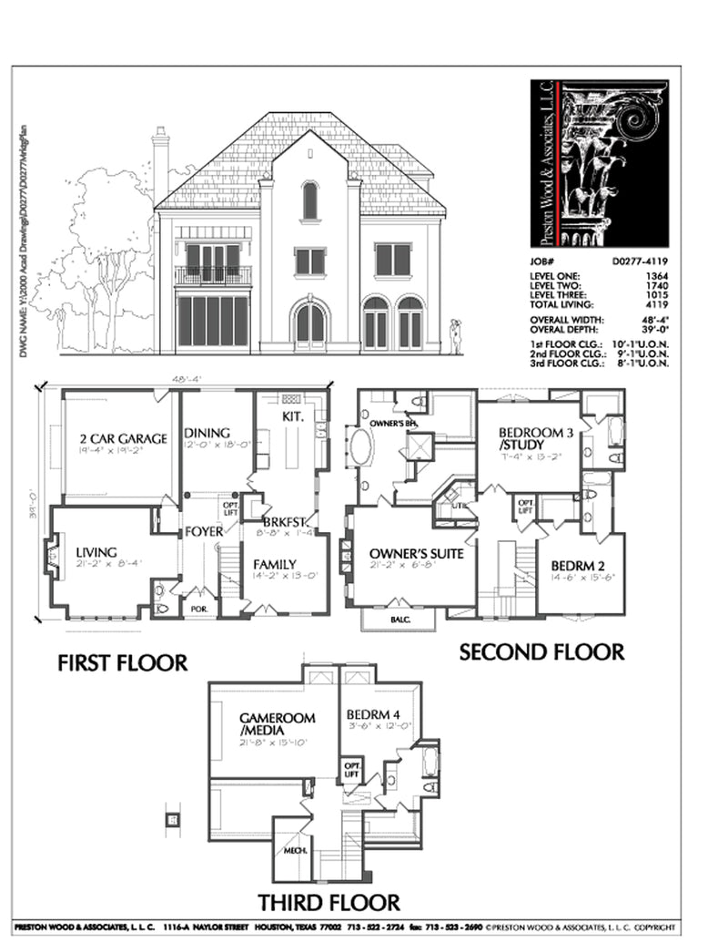 Urban House Plan D0277