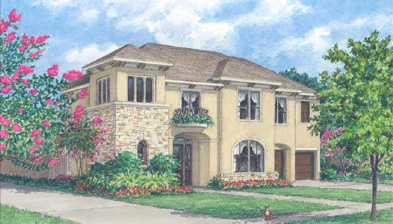 Urban Home Plan D4276 A