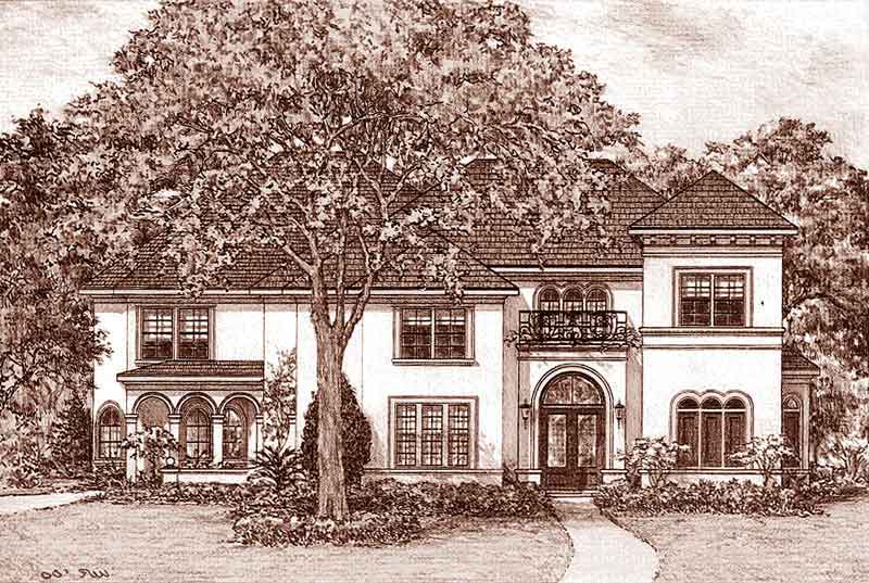 Two Story Home Plan D3227