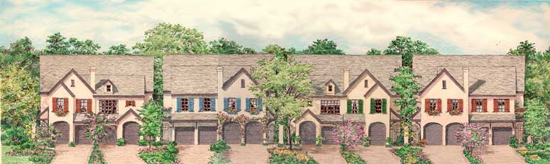 Country Style Home Plan C6295 A