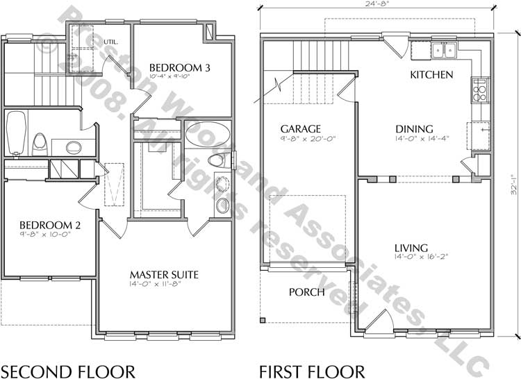 Small House Plan D1116