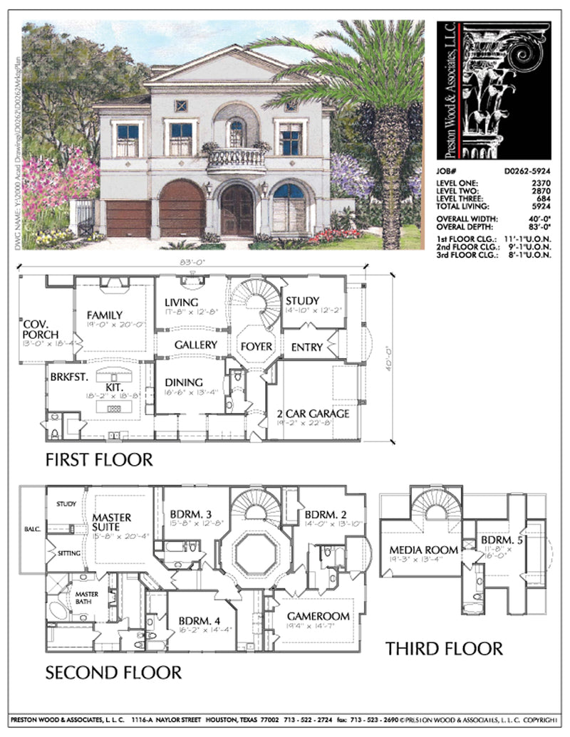 Urban Home Plan aD0262